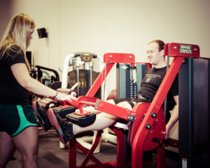 leg extension exercise for personal training in minneapolis, mn